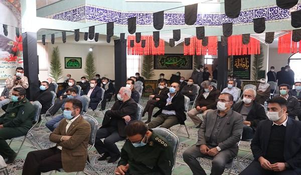 برگزاری اولین سالگرد سردار دلها حاج قاسم سلیمانی در شهرک صنعتی بزرگ شیراز