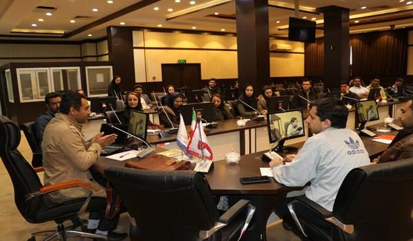 جلسه آموزشی مسئولین ایمنی و بهداشت کارگاه های مستقر در شهرک