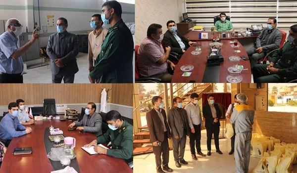 مرحله دوم کمک های مومنانه و اجرای طرح شیفت ایثار در شهرک صنعتی بزرگ شیراز