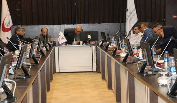نشست مدیران صندوق ضمانت سرمایه گذاری صنایع کوچک با صنعتگران وتولیدکنندگان شهرک صنعتی بزرگ شیراز