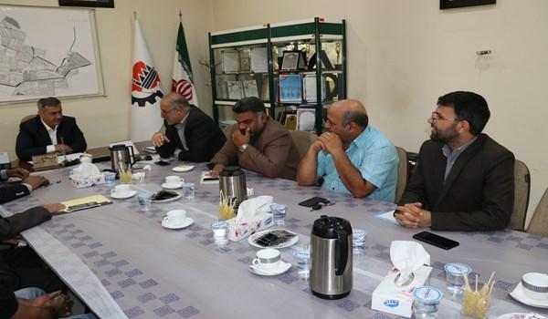جلسه با مدیرعامل محترم شرکت ملی پخش فرآورده های نفتی ایران در مورد مشکل تأمین کپسول گاز مایع