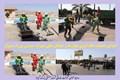 اجرای عملیات لکه گیری آسفالت خیابان های شهرک صنعتی بزرگ شیراز