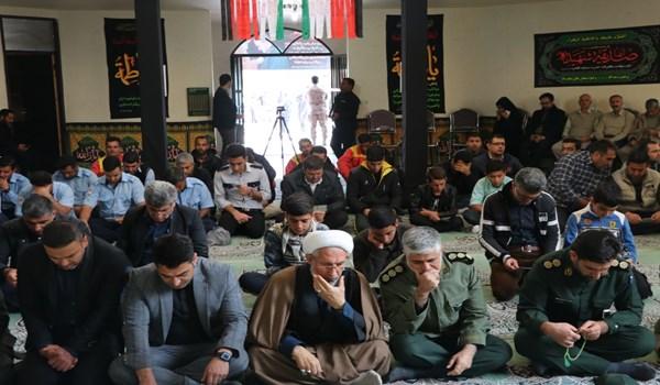 مراسم گرامیداشت سردار دلها در شهرک صنعتی بزرگ شیراز