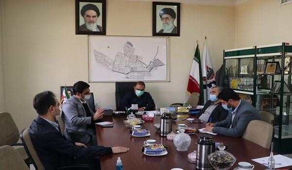 جلسه کارگروه شرکت خدماتی با بسیج اقشار و مهندسین سپاه فجر فارس